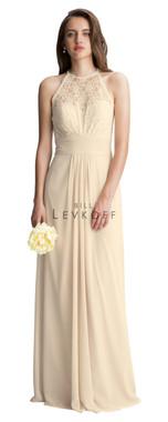 Bill Levkoff Bridesmaid Dress Style 1412 - Corded Lace & Chiffon