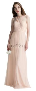 Bill Levkoff Bridesmaid Dress Style 1422 - Corded Lace & English Netting
