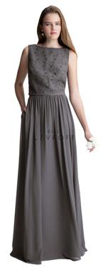 Bill Levkoff Bridesmaid Dress Style 1428 - Corded Lace & Chiffon