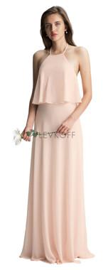#LEVKOFF - Bill Levkoff Bridesmaid Dress Style 7006 - Chiffon