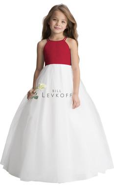 Bill Levkoff Flower Girl Dress Style 116101 - Chiffon
