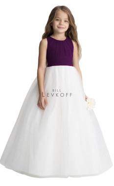 Bill Levkoff Flower Girl Dress Style 116501 - Chiffon