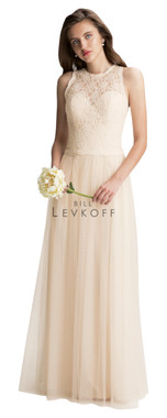 Bill Levkoff Bridesmaid Dress Style 1424 - Corded Lace & English Netting