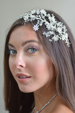 Ansonia Bridal 8725 - Rhinestone crystal headband