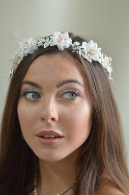 Ansonia Bridal 8731 - Flower & Rhinestone headband