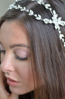 Ansonia Bridal 8733 - Rhinestone Vine headpiece