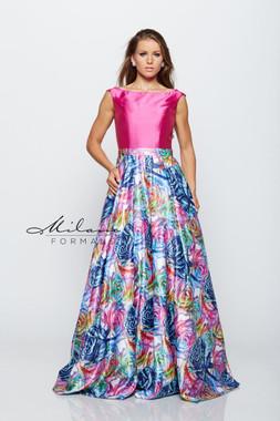 Milano Formals E2162 - Special Occasion Dress