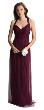 #LEVKOFF - Bill Levkoff Bridesmaid Dress Style 7012 - English Netting