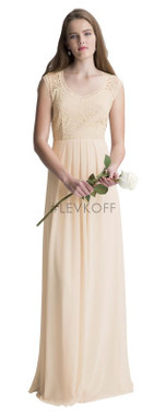 #LEVKOFF - Bill Levkoff Bridesmaid Dress Style 7011 - Chiffon/Lace