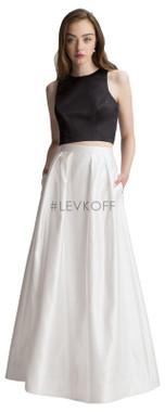 #LEVKOFF - Bill Levkoff Bridesmaid Dress Style 7013 - European Satin