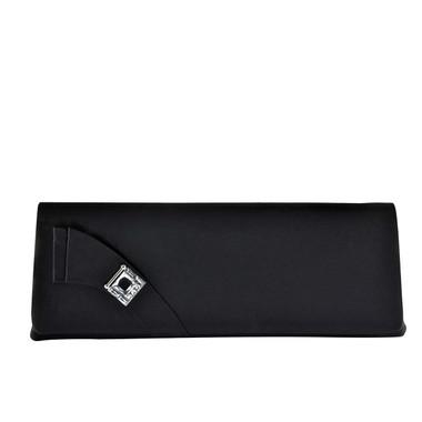Liz Rene Handbag Heather - B711 Black Satin