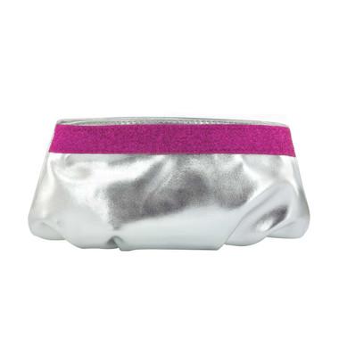 Liz Rene Handbag Emily- B739 Silver/Fuchsia