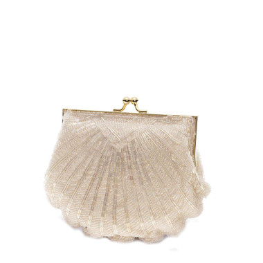 Liz Rene Handbag Victoria - B848 Ivory Beaded