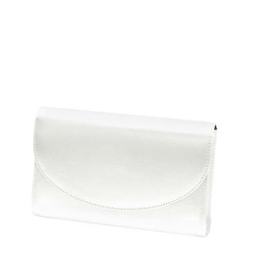 Liz Rene Handbag Sandy - B862 White Satin