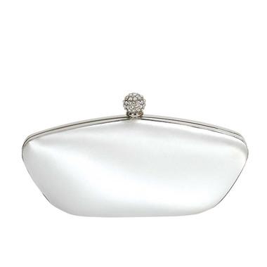 Liz Rene Handbag Camille - B872 White Satin