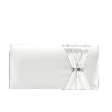 Liz Rene Handbag Leona - B888 White Satin