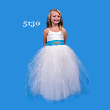 Rosebud Fashions Flower Girl Dresses - Style 5130 - Tulle