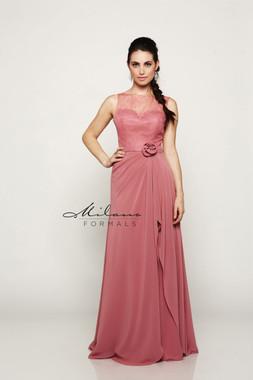 Milano Formals E2087 - Chiffon - Special Occasion Dress