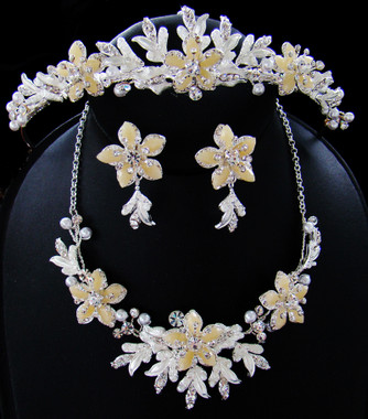 Couture Crystal Matching Tiara Set NE 8100 & HP 8100