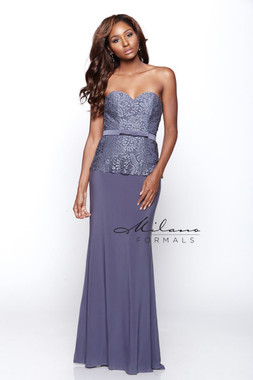 Milano Formals E2085 - Jersey  - Special Occasion Dress