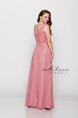 Milano Formals E2083 - Lace/Chiffon - Special Occasion Dress