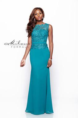 Milano Formals E1838 - Chiffon - Special Occasion Dress