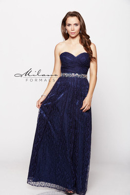 Milano Formals E1796 - Lace - Special Occasion Dress