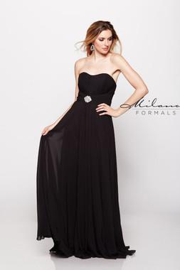 Milano Formals E1696 - Chiffon - Special Occasion Dress
