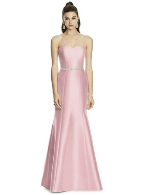 Alfred Sung Dress Style D742 - Blossom- Sateen Twill - In Stock Dress