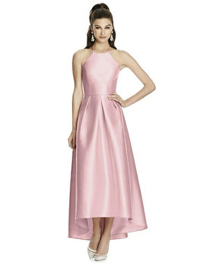 Alfred Sung Dress Style D741 - Blossom - Sateen Twill - In Stock Dress