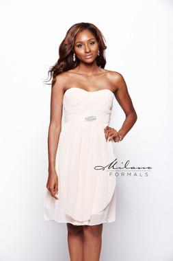 Milano Formals E1573 - Chiffon - Special Occasion Dress