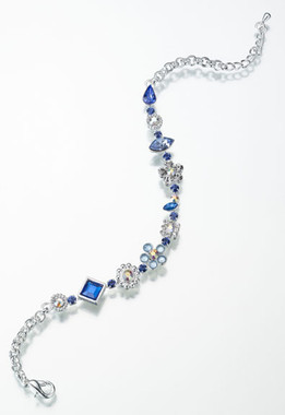 Something Blue Anklet by Lillian Rose
