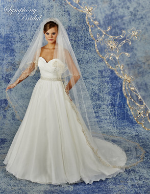 Symphony Bridal Cathedral Wedding Veil - 6938VL