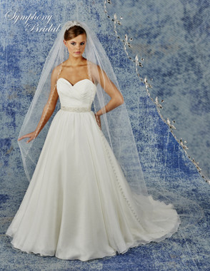 Symphony Bridal Cathedral Wedding Veil - 6939VL