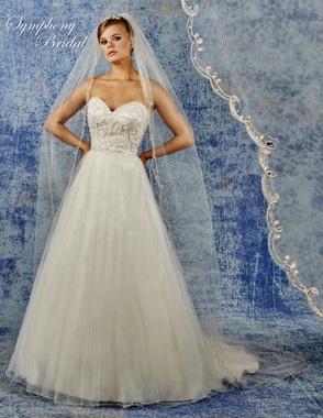 Symphony Bridal Cathedral Wedding Veil - 6941VL