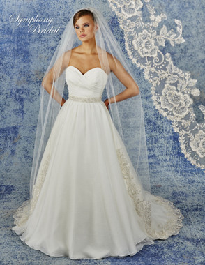 Symphony Bridal Cathedral Lace Wedding Veil - 6942VL