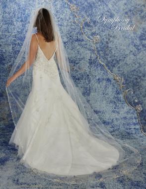Symphony Bridal Cathedral Wedding Veil - 6945VL