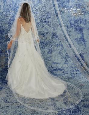 Symphony Bridal Cathedral Wedding Veil - 6947VL