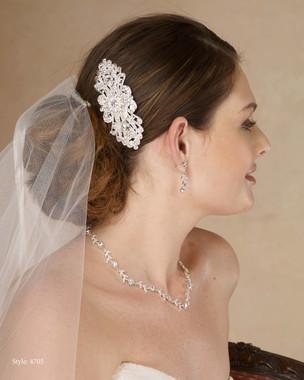 Marionat Bridal 4705 Rhinestone Comb- Le Crystal Collection