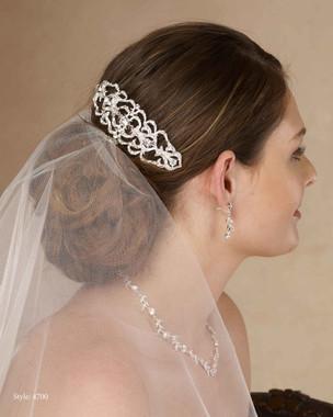 Marionat Bridal 4700 Rhinestone comb - Le Crystal Collection
