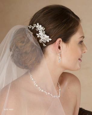 Marionat Bridal 4684 Rhinestone clip - Le Crystal Collection