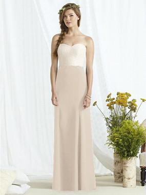 Social Bridesmaids Dress 8162 - Matte Chiffon