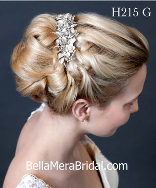 Giselle Bridals Headpiece H215G(SI)