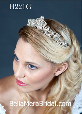 Giselle Bridals Headpiece H221G(SI)
