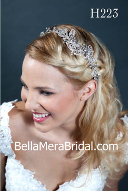 Giselle Bridals Headpiece H223