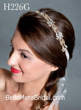 Giselle Bridals Headpiece H226G(SI)