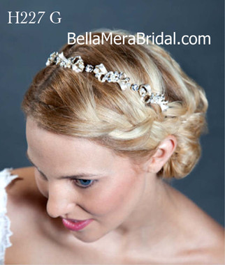 Giselle Bridals Headpiece H227G(SI)
