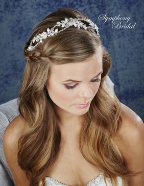 Symphony Bridal Hair Wrap - HW631