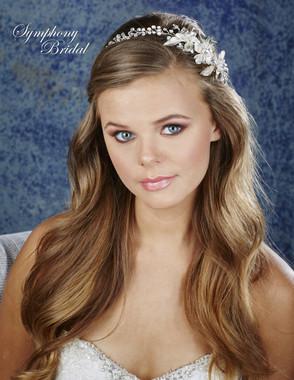 Symphony Bridal Hair Wrap - HW632