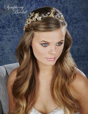 Symphony Bridal Hair Wrap - HW634